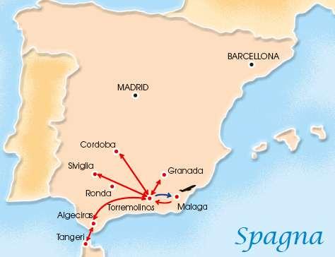 T.ANDALUSIA/MAROCCO INSOL 4* + HTL ROYAL AL ANDALUS 4* | Tour della Spagna