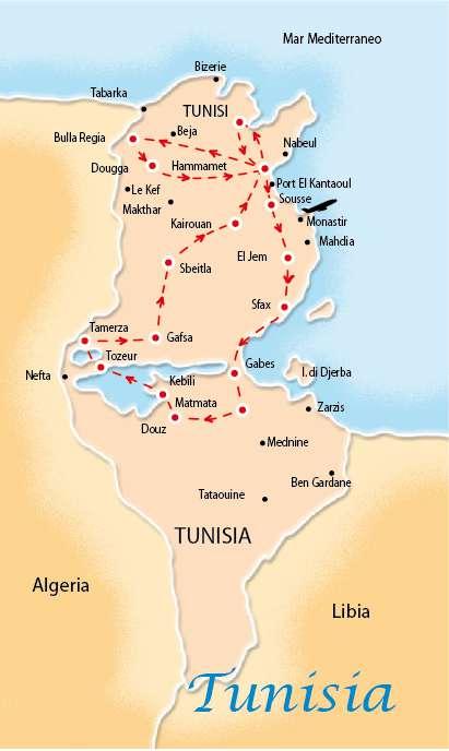 SUPERTOUR MONASTIR 4/5*, HOTEL EL BORJ | Tour della Tunisia