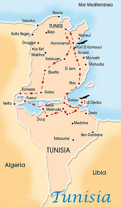 SUPERTOUR DJERBA 4/5*, HOTEL SUNCONNECT AQUA RESORT | Tour della Tunisia