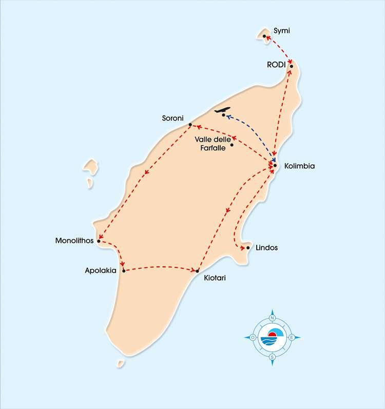 RODI INSOLITA 4* HB | Tour Isole Greche